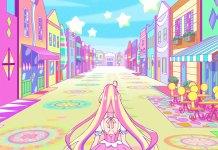 Série anime/live-action Aikatsu! Planet