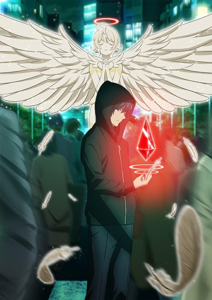 Imagem promocional da série anime de Platinum End