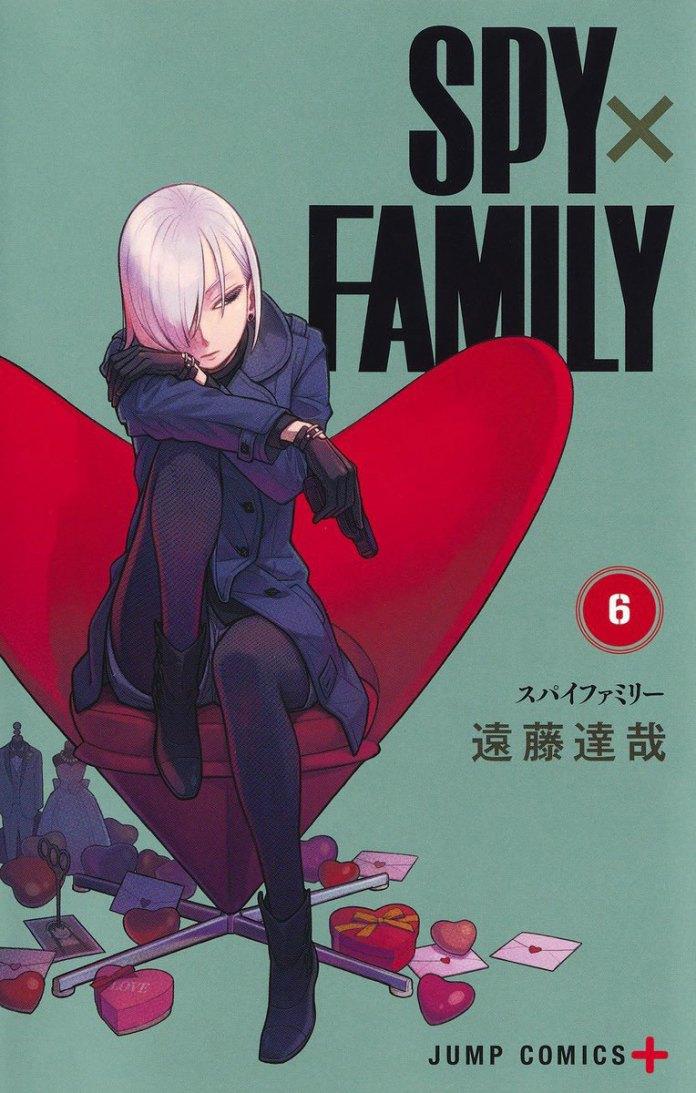 Capa do volume 6 de Spy x Family