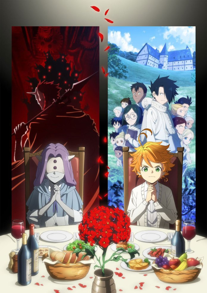 Imagem promocional de The Promised Neverland 2