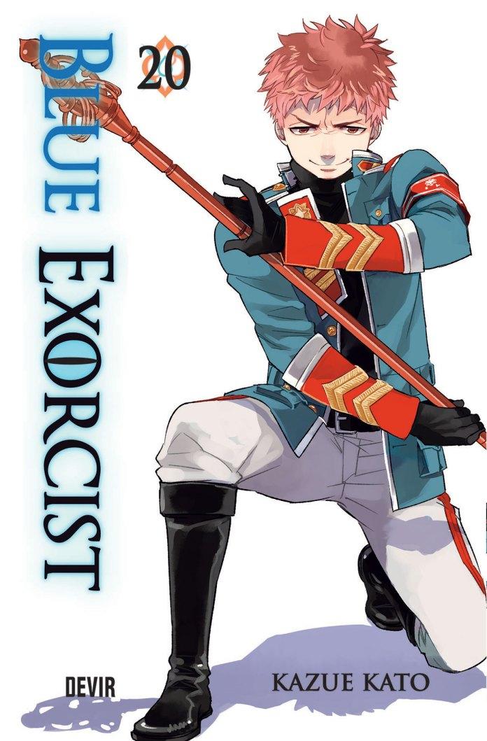 Capa do volume 20 de Blue Exorcist  pela Devir
