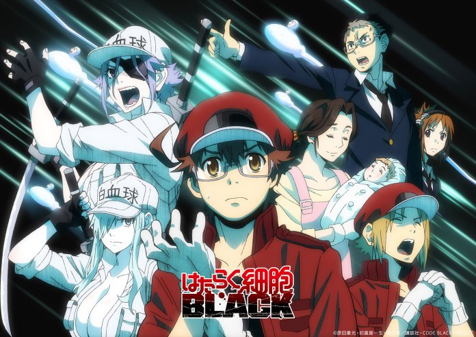 Cells at Work! CODE BLACK special visual