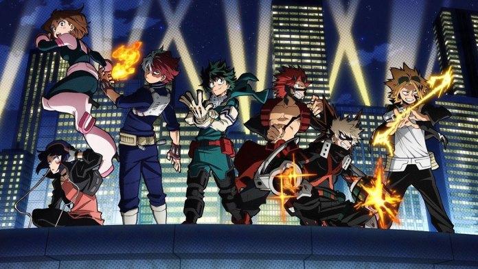 My Hero Academia 5 visual