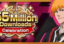 Bleach: Brave Souls com mais de 55 milhões de downloads