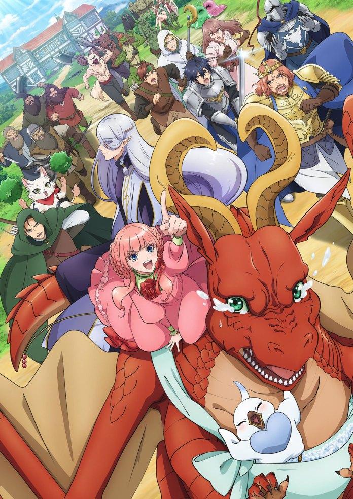 Dragon Goes House-Hunting new key visual