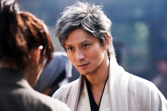 Masanobu Andou como Takasugi Shinsaku