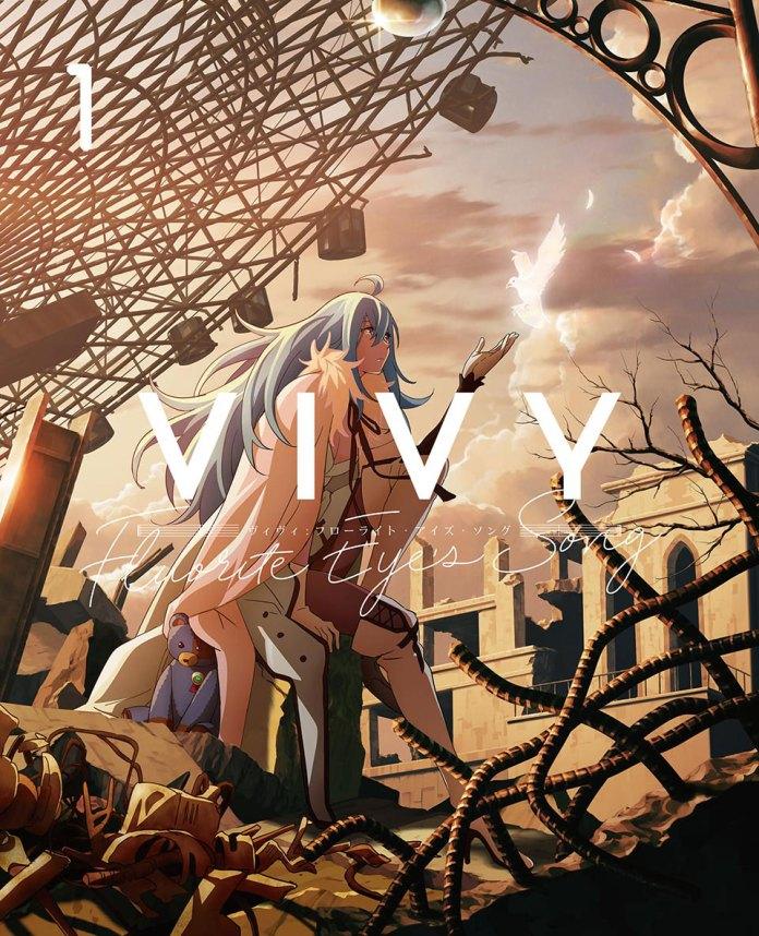 1º volume DVDBD de Vivy Fluorite Eye's Song cover
