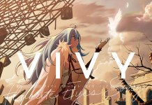 Detalhes do 1º volume DVD/BD de Vivy: Fluorite Eye's Song
