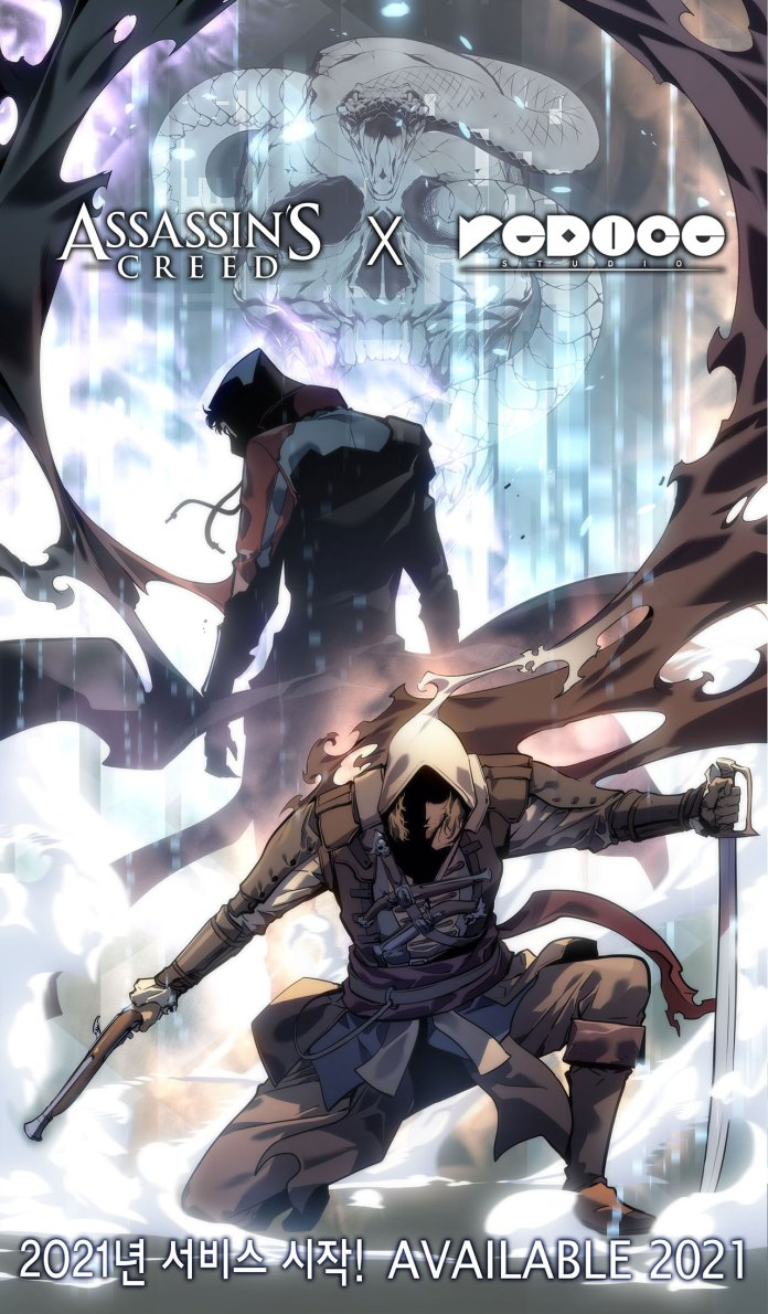 Assassin's Creed IV Black Flag ganha manhwa visual