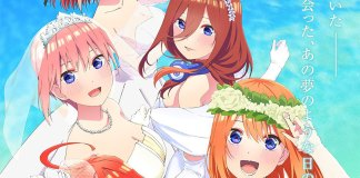 The Quintessential Quintuplets vai ter filme anime em 2022