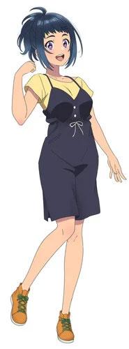 Azumi Waki como Tsukimi Teruya
