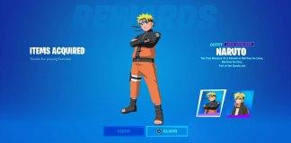Leak revela possível colaboração entre Fortnite e Naruto