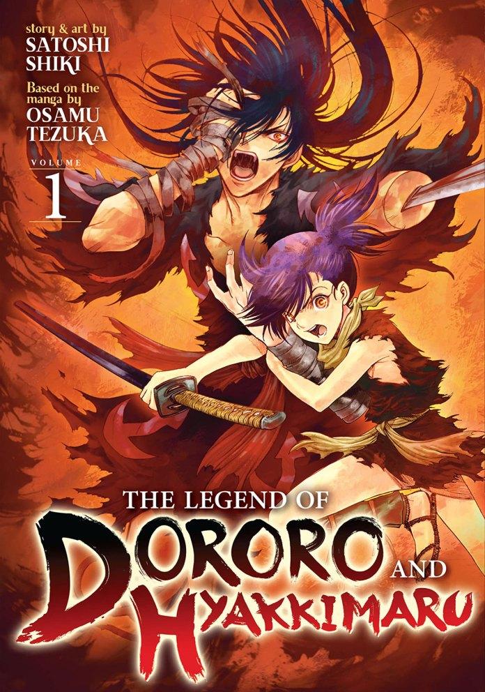 The Legend of Dororo and Hyakkimaru volume 1 cover