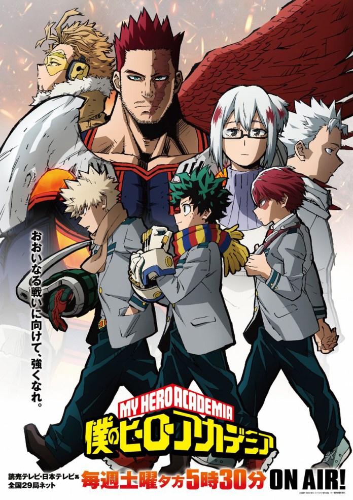 Endeavor's Hero Agency de My Hero Academia 5 Poster