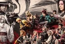 Imagem promocional da 2ª peça de teatro de Kimetsu no Yaiba