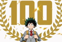 My Hero Academia comemora episódio 100