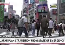 Japão quer levantar o estado de emergência de Tóquio