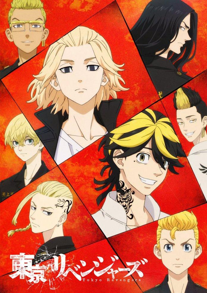 Poster do arco Bloody Halloween de Tokyo Revengers