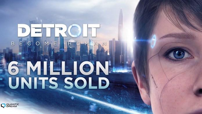 Detroit: Become Human com mais de 6 milhões de cópias