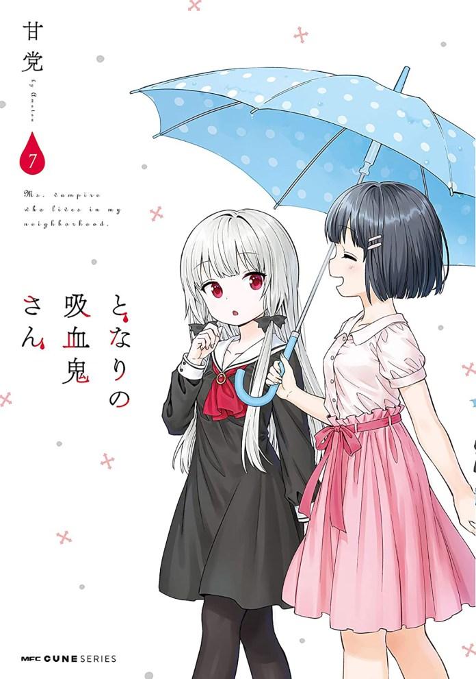 Tonari no Kyuuketsuki-san volume 7 cover