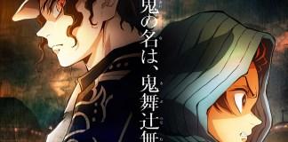 Imagens promocionais da retransmissão de Kimetsu no Yaiba