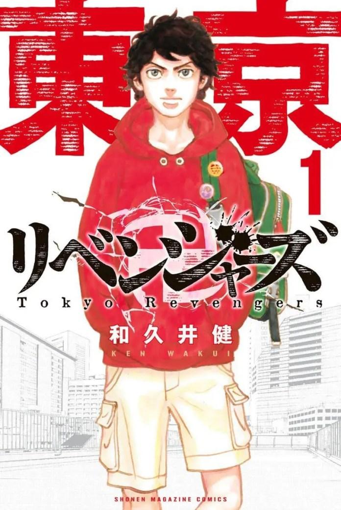 Capa do volume 1 de Tokyo Revengers