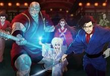 Trailer revela data de estreia do filme anime Bright: Samurai Soul