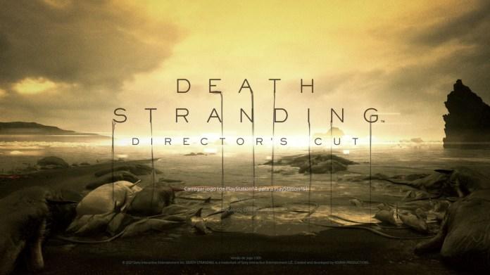 Menu Principal de Death Stranding DIRECTOR'S CUT
