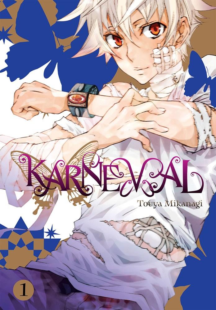 Capa do volume 1 de Karneval