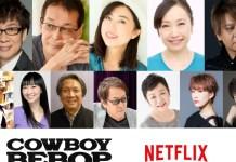 Elenco da série anime Cowboy Bebop vai emprestar a sua voz à série live-action