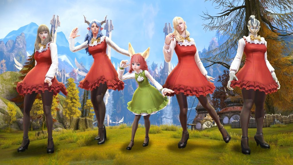 Time To Go On A Picnic In TERA Online With New Costumes