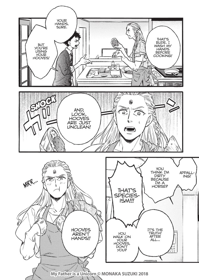 Is Your Father a Unicorn? Newly Released Manga Shows What it Would Be Like! 5