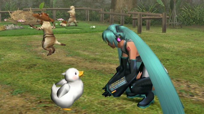 Monster Hunter Frontier x Hatsune Miku pic 3