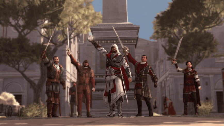 Assassins Creed Brotherhood Review Screen 1