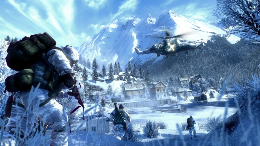 Battlefield Bad Company 2 Review screen 1