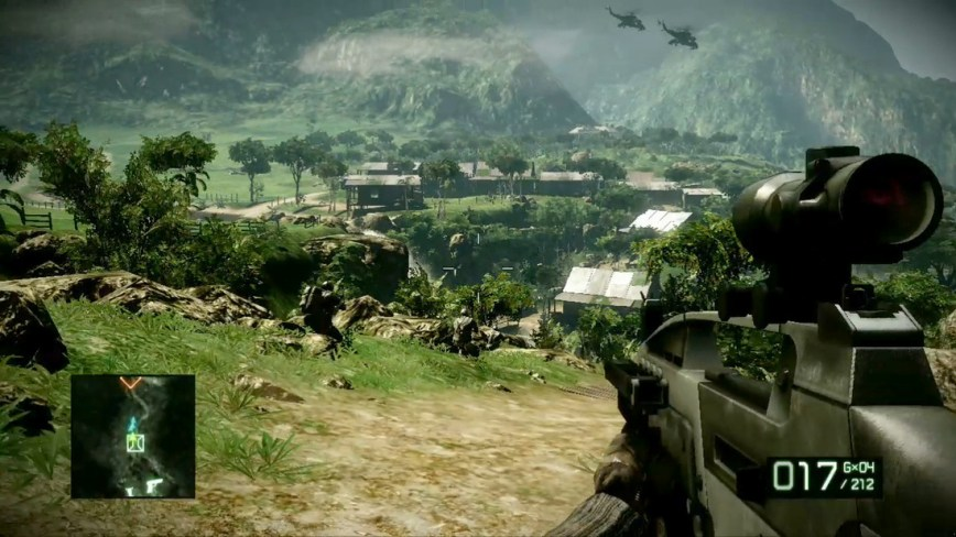 Battlefield Bad Company 2 Review screen 2