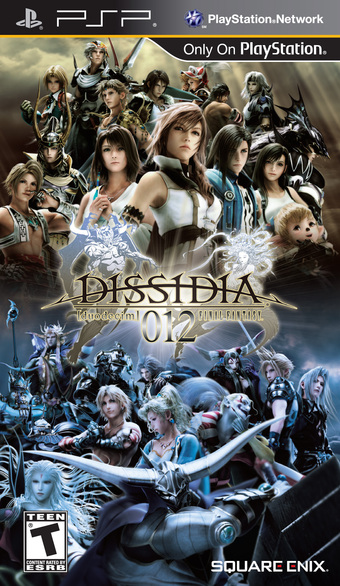 Dissidia 012 Duodecim Final Fantasy Review - PlayStation Portable Box Art