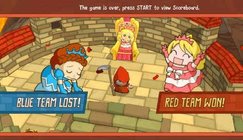 Fat Princess Fistful of Cake Review Screen 1