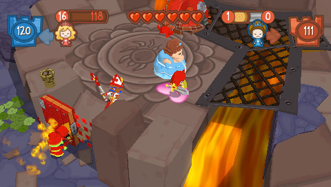 Fat Princess Fistful of Cake Review Screen 5