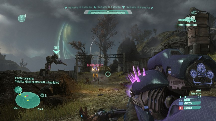 Halo Reach Review Screen 8