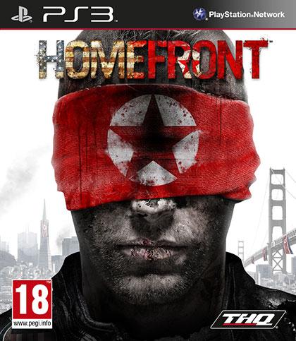 Homefront Review - PlayStation 3 Box Art