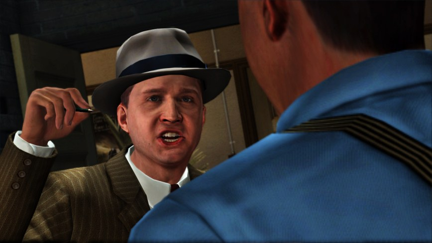 L.A. Noire Review Screen 1