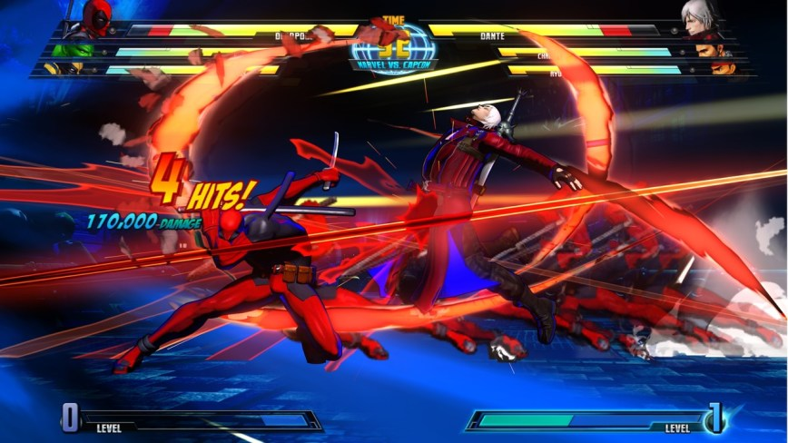 Marvel vs. Capcom 3 Fate of Two Worlds Review Screen 2