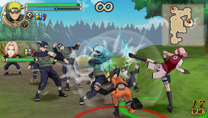 Naruto Shippuden Ultimate Ninja Impact Review Screen 3