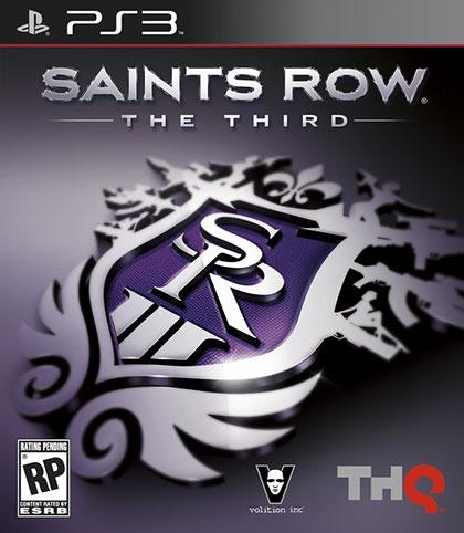 Saints Row The Third Review - PlayStation 3 Box Art