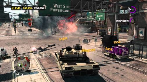 Saints Row The Third Review Screen 4