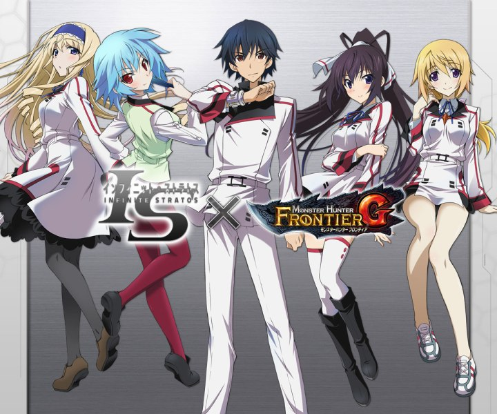 Infinite Stratos x Monster Hunter Frontier G Collaboration Announced Visual
