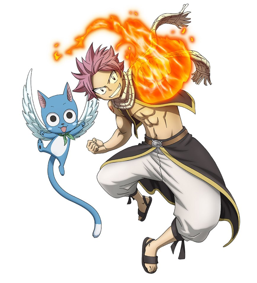 Monthly Fairy Tail Magazine Visual