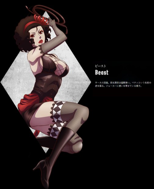 Black Butler Book of Circus Characters - Beast