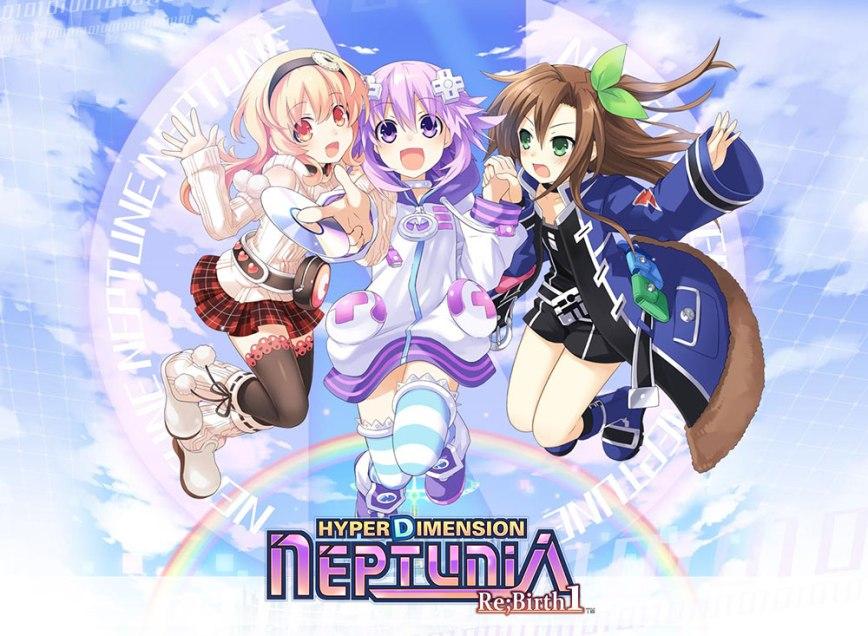 Hyperdimension Neptunia Re;Birth 1 Visual